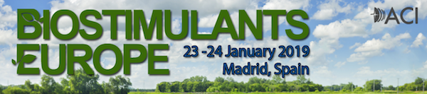 Biostimulants Europe 2019 - Madrid